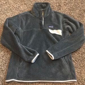 Patagonia Gray Pullover Size Large